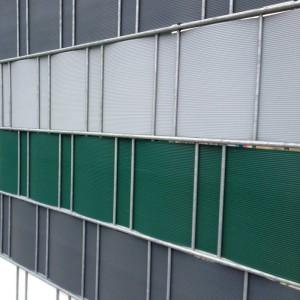 Die PVC-Streifen gibt es in verschiedenen Farben